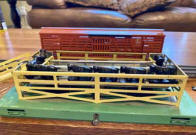 Lionel Cattle Loader and Car